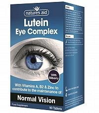 Natures Aid LUTEIN EYE COMPLEX 90CPS (NA 3 MESIACE)