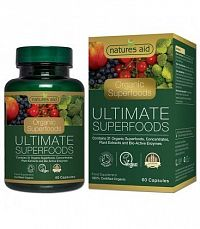 Natures Aid Organic ULTIMATE Superfoods 60cps