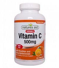 Natures Aid Vitamín C 500 mg tbl mnd 100 ks