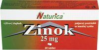 Naturica ZINOK 25 mg 60 tbl