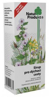 NaturProdukt Sirup pre dýchacie cesty sirup 1x200 ml