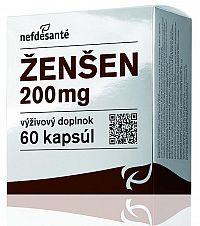 nefdesanté ŽENŠEN 200 mg 60 cps