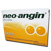 Neo-angin šalvia tvrdé pastilky 24 ks