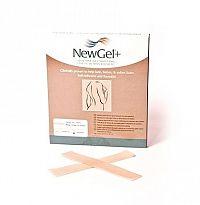 NewGel+ béžový samolepiaci prúžok NG-101S rozmer 2,5x15,2 cm, 1x4 ks