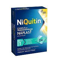 NiQuitin Clear 21mg Transdermálna náplasť 7ks