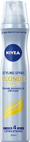Nivea Lak na vlasy Brilliant Blonde 250ml