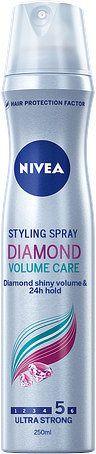 NIVEA Lak na vlasy Diamond Volume 250ml