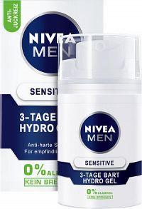 NIVEA MEN Pletový gél Sensitive