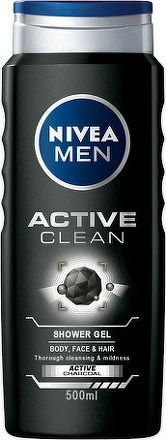 NIVEA MEN Sprchový gél Active Clean 500