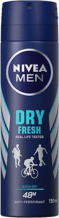 Nivea Men Sprej AP Dry Active 150ml