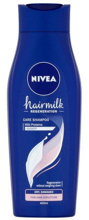 NIVEA Šampon Hairmilk Jemné 400ml