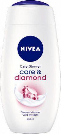 NIVEA Sprchový gél Care&Diamond