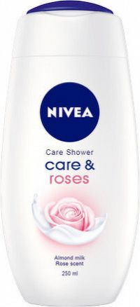NIVEA Sprchový gél Care&Roses