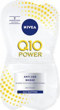 NIVEA Vyhladzujúci pletová maska Q10