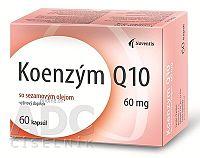 Noventis Koenzým Q 10 60 mg so sezamovým olejom cps mol 4x15 ks