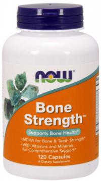 Now Foods Bone Strength Silné kosti 120 kapsúl