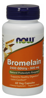 Now Foods Bromelain 500mg 60 veg kapsúl