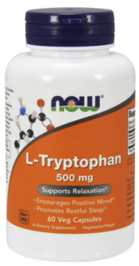 Now Foods L-Tryptophan 500mg 60 veg kapsúl