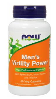 Now Foods Podpora mužskej potencie 120 veg kapsúl