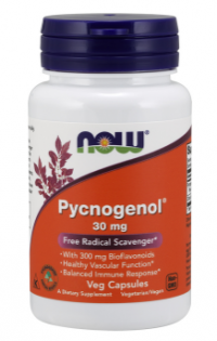 Now Foods Pycnogenol super antioxidant 30mg 60 veg kapsúl
