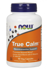 Now Foods True Calm, anti-stresová formula 90 veg kapsúl