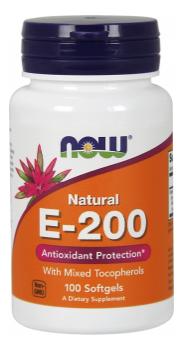 Now Foods Vitamin E 200 I.U. 100 tobolek