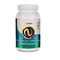 NUPREME BIO Chlorella + Spirulina 750tbl