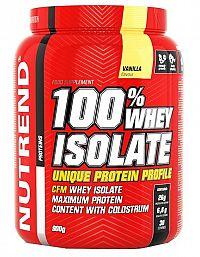 NUTREND 100% WHEY ISOLATE 900g vanilka