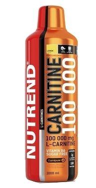 NUTREND CARNITINE 100000, 1000ml, pomaranč