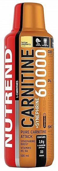 Nutrend Carnitine 60000 + Synephrine, 500ml