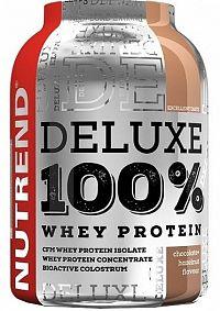 NUTREND DELUXE 100% WHEY 2250g čokoláda+lieskový orech