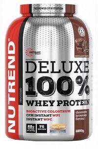 NUTREND DELUXE 100% WHEY 2250g čokoládové brownies