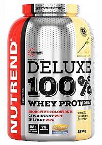 NUTREND DELUXE 100% WHEY 2250g vanilkový puding