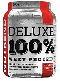 NUTREND DELUXE 100% WHEY 900g jahodový cheesecake