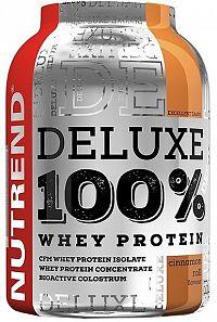NUTREND DELUXE 100% WHEY 900g škoricový snack