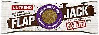 NUTREND FLAPJACK GLUTEN FREE, 100 g, čučoriedka + brusnica s jogurtovou polevou