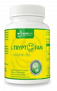 Nutricius L-Tryptofan+ vitamín B6 60ks