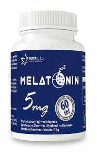 Nutricius Melatonín 5 mg 60ks