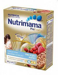 Nutrimama Profutura cereálne tyčinky Brusnice & Maliny5x40g