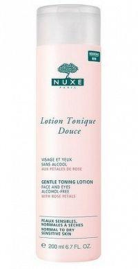 NUXE Lotion Tonique Douce Jemná pleťová voda s výťažkami z ruže 1x200 ml