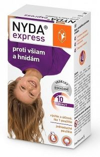 NYDA express proti všiam a hnidám 1x50 ml