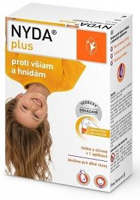 NYDA plus proti všiam a hnidám 1x100 ml