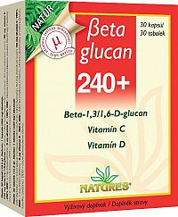 Obra Femiglucan Beta Glucan 240+ 30 tabliet