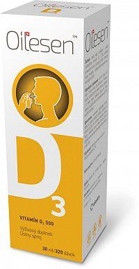 OILESEN Vitamín D3 500 ústny sprej 30ml