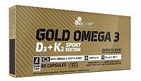 Olimp Gold Omega 3 D3 + K2, 60 kps