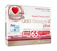Olimp Gold Omega 3 Plus, 60 kps