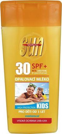 Opaľovacie mlieko s betakaroténom SPF30 pre deti 200ml