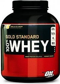 OPTIMUM 100 Whey Gold Standard 2270 g caramel toffee fudge