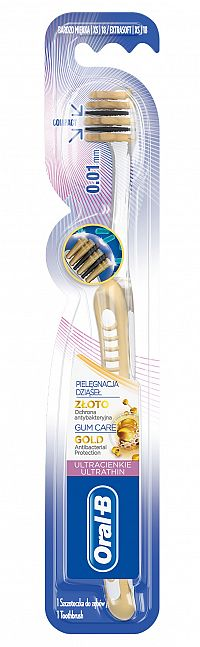 Oral-B UltraThin GUM CARE GOLD XS zubná kefka ExtraSoft