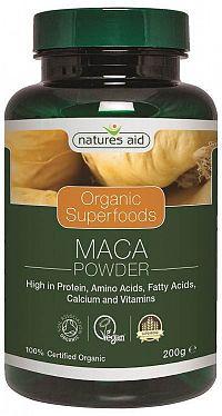 Organic Superfoods MACA prášok zo 4 druhov koreňa 200g